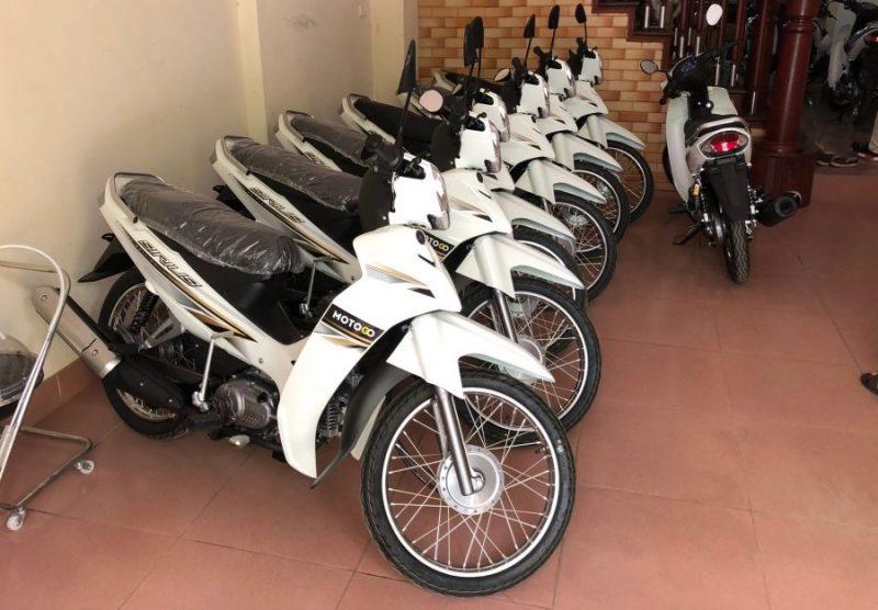 xe máy du lich Mộc Châu tự túc