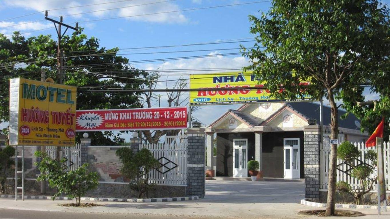 Huong Tuyet Motel suối nước nóng Bình Châu Vũng Tàu