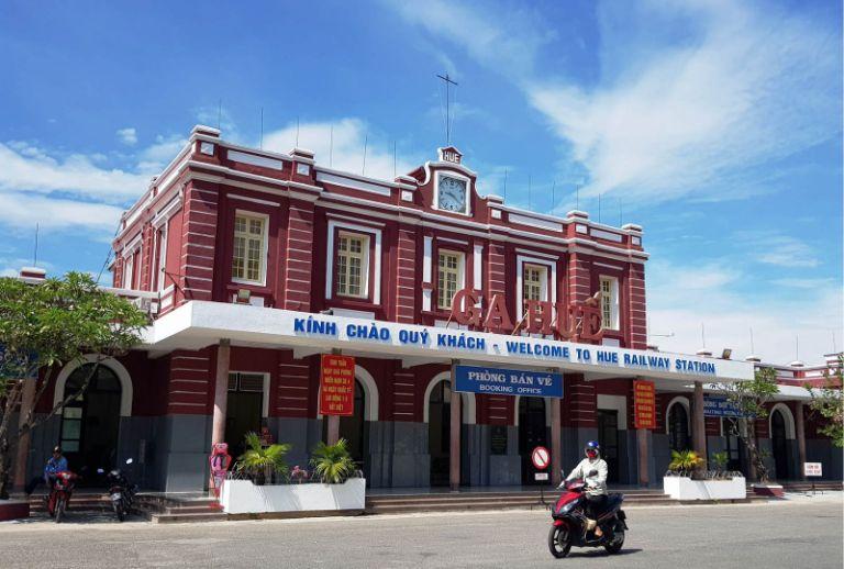 ga Huế cảnh đẹp ở Huế
