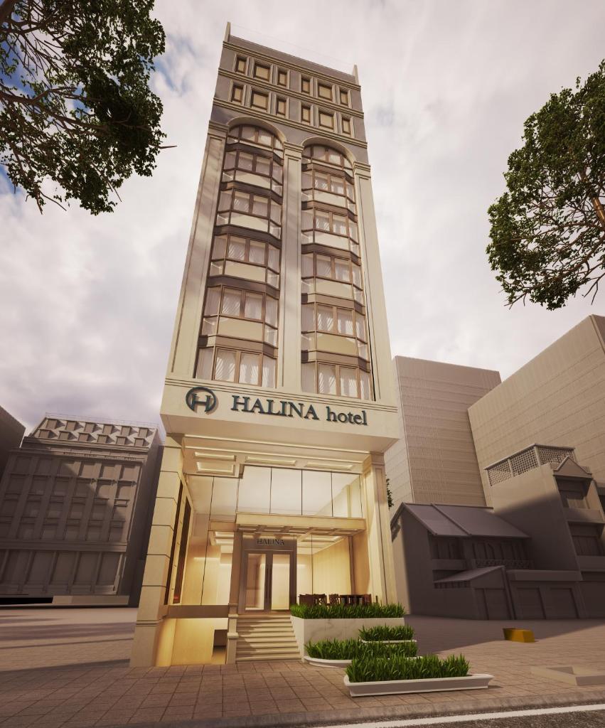 Khách sạn Halina Đà Nẵng xinh đẹp với thiết kế sang trọng kết hợp kiến trúc cổ điển làm xao xuyến nhiều du khách khi ghé đến