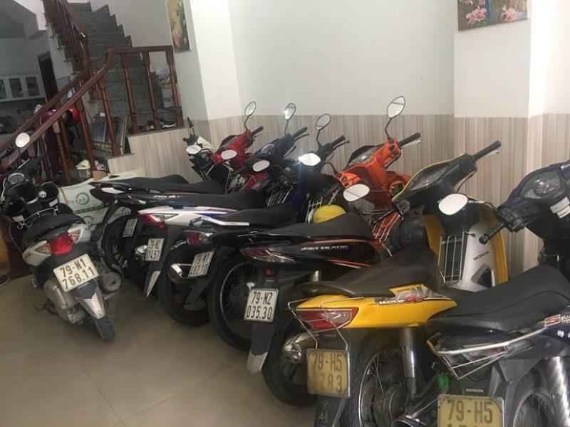 Thuê xe máy tại Nha Trang