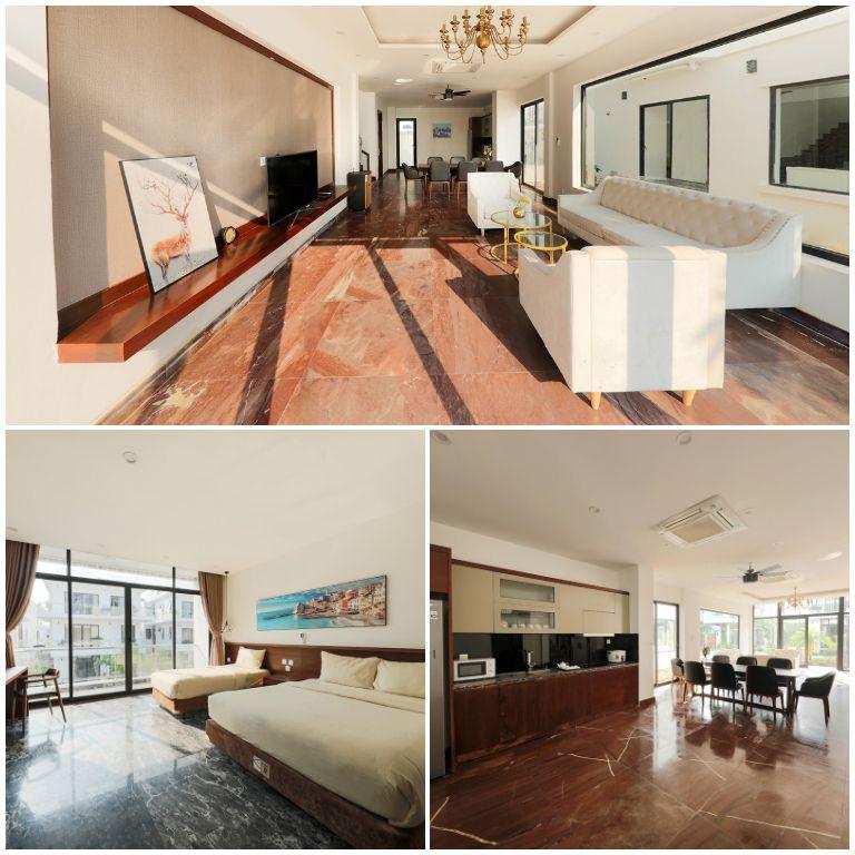 Nội thất Sunrise Luxury Villas - FLC Samson