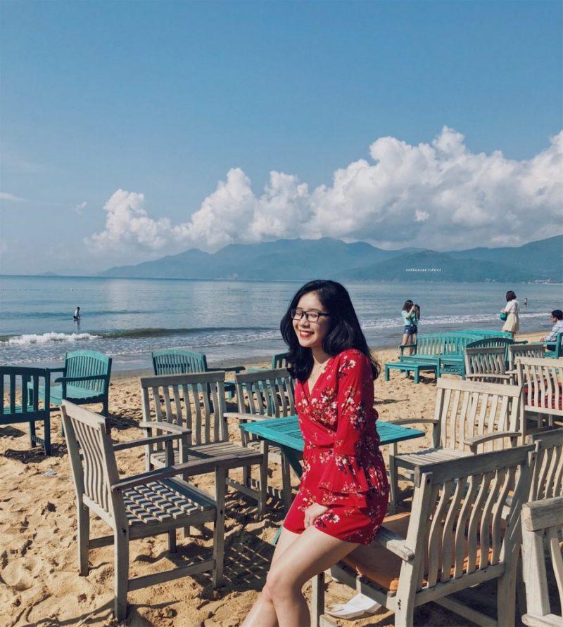 Cafe bãi biển du lịch quy nhơn