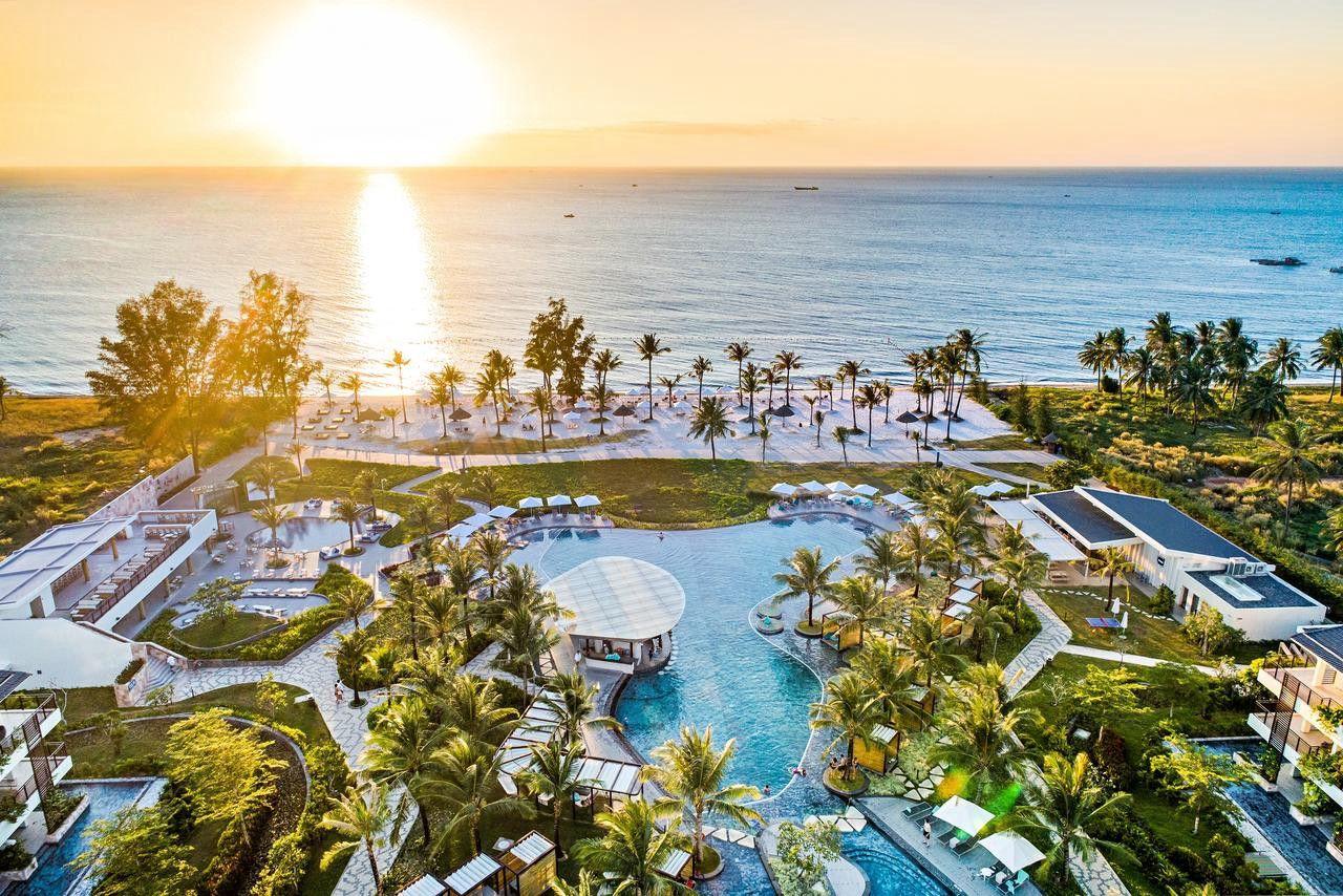 Toàn cảnh khu Resort cao cấp, độc đáo và lãng mạn