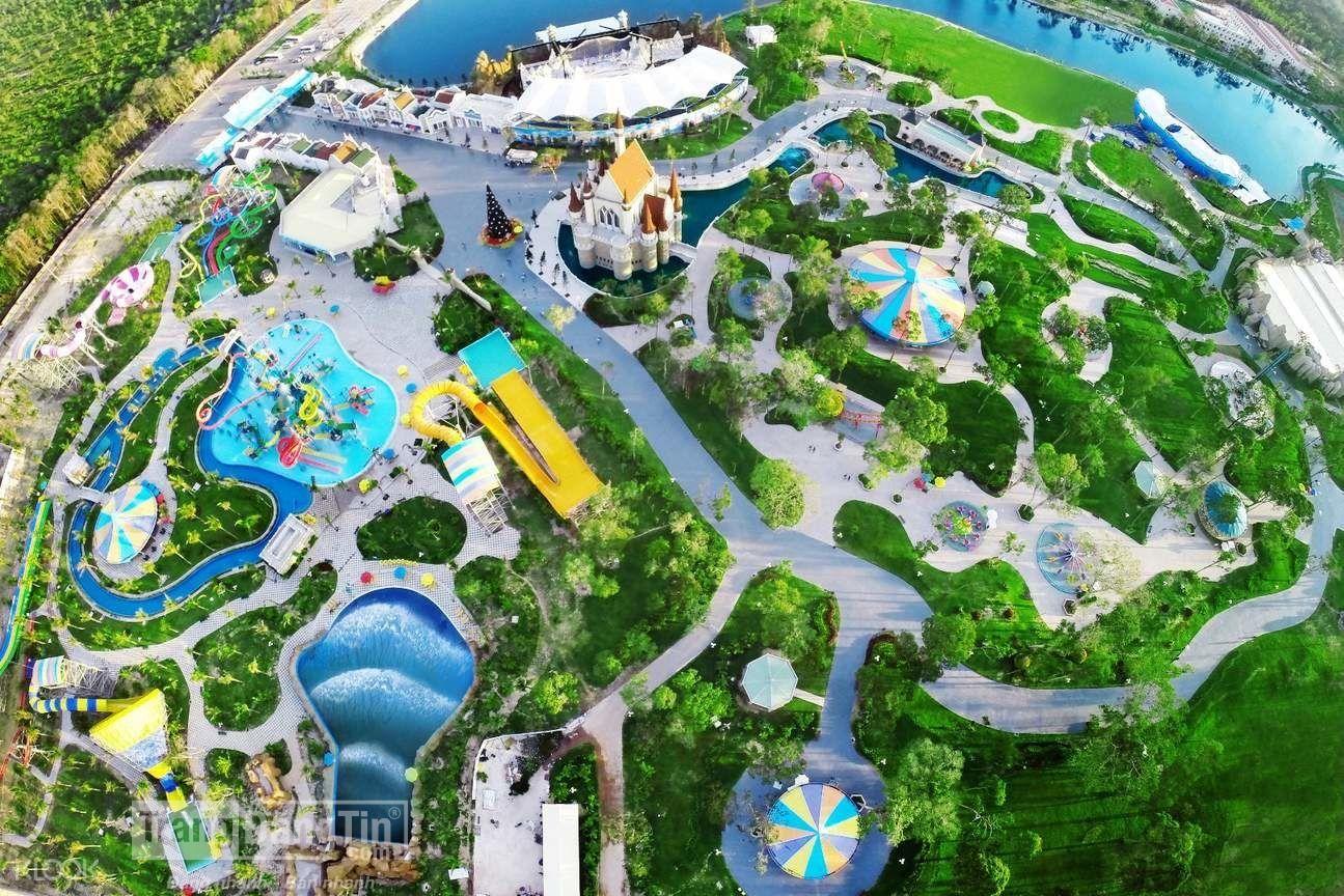 Ngây ngất trước vẻ đẹp toàn cảnh của Vinpearl Phú Quốc