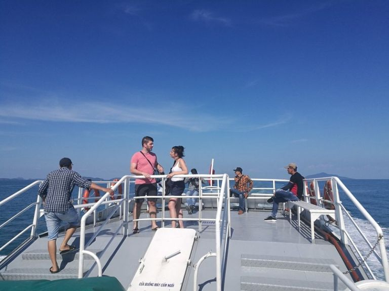 Tàu từ Phú Quốc đi đảo Thổ Chu