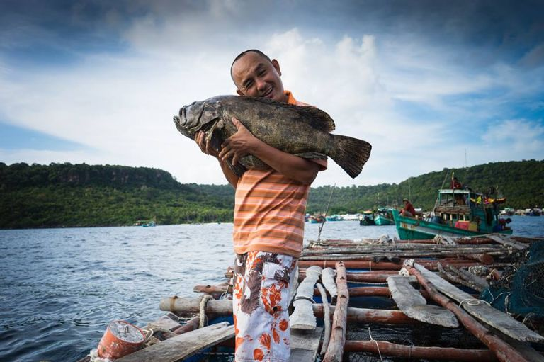 Bạn sẽ cảm thấy thế nào khi chính tay mình câu được những con cá to như vậy?