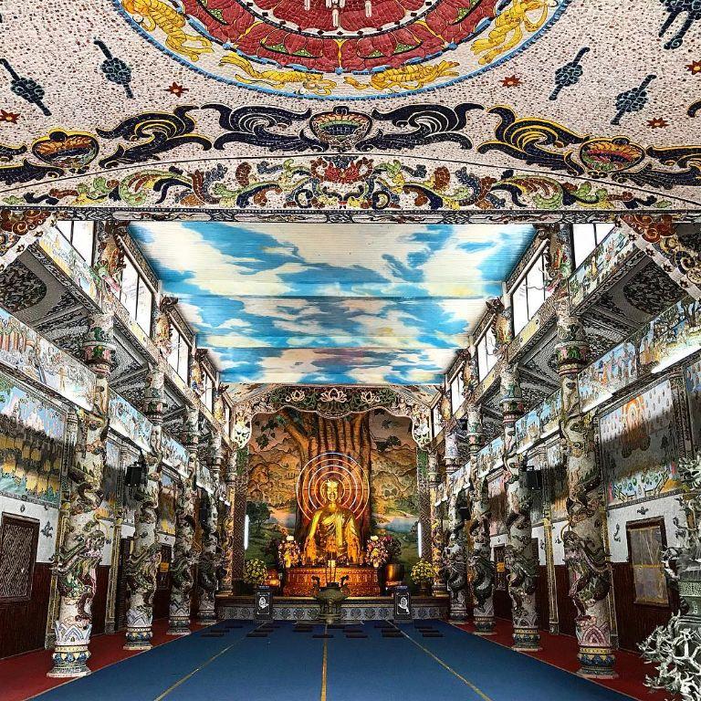 Chính điện chùa Tam Chúc