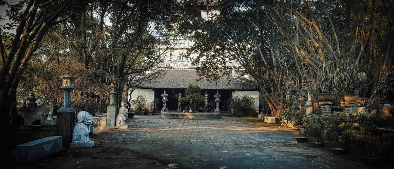 không gian làng quê ở phủ Thanh Chương