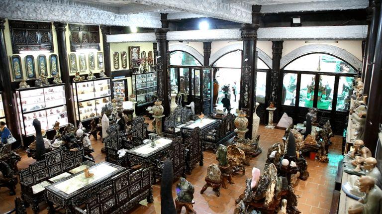 Nơi chưng bày của bảo tàng cổ vật của Ve Chai
