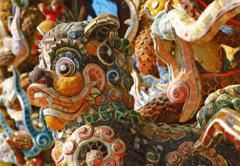 Kiến trúc chùa Ve Chai ( Linh Ứng )