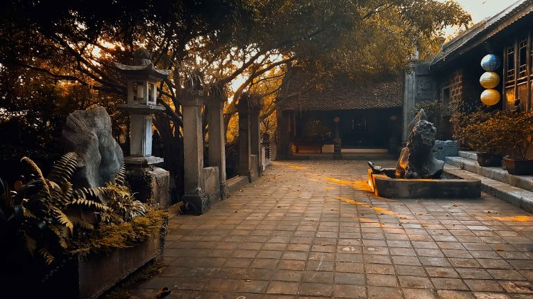 Việt phủ Thành Chương có những công trình kiến trúc độc đáo và điêu luyện