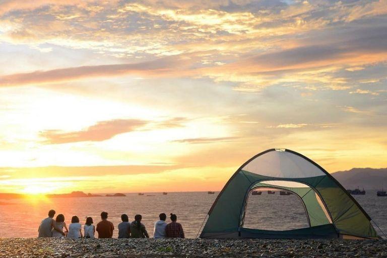 Cắm trại ở đảo Thổ Chu