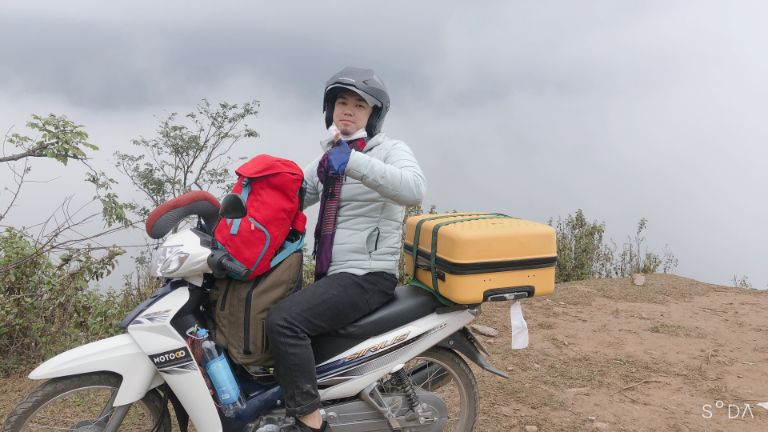 thuê xe máy phượt hồ hòa trung