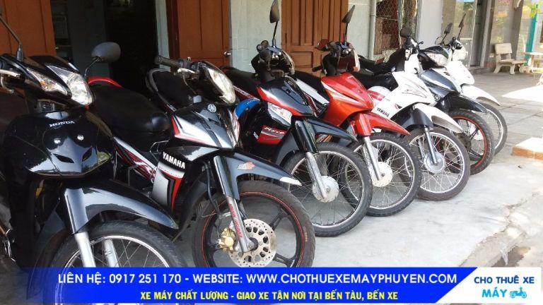 Thuê xe máy Thanh Sang - Phú Yên