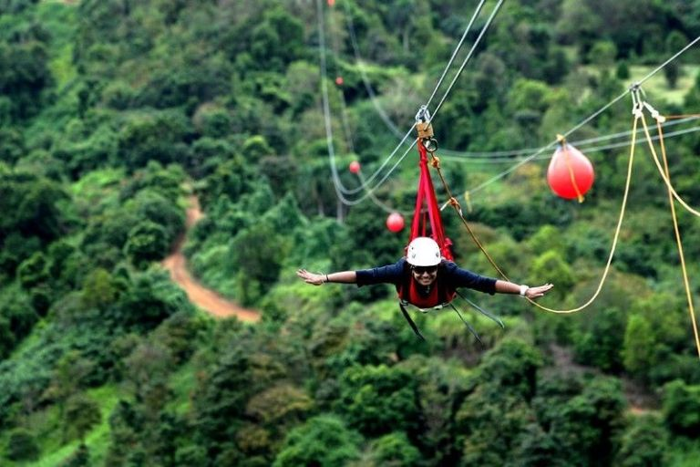 Trượt Zipline