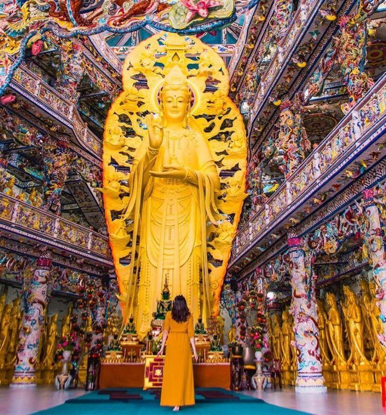 Tượng phật bằng bê tông lớn nhất Việt Nam
