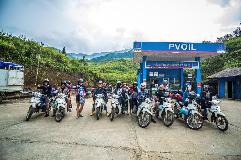 thuê xe máy du lịch Hà Nội