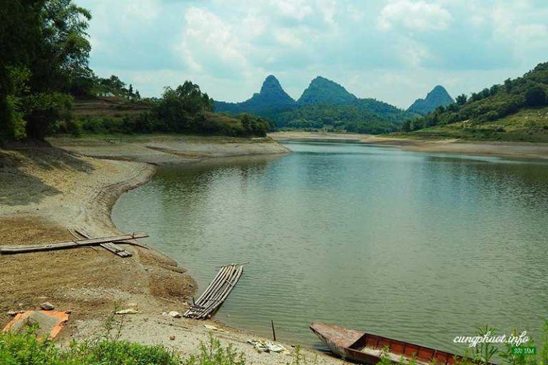 khung cảnh đồng quyê ở Lạng Sơn