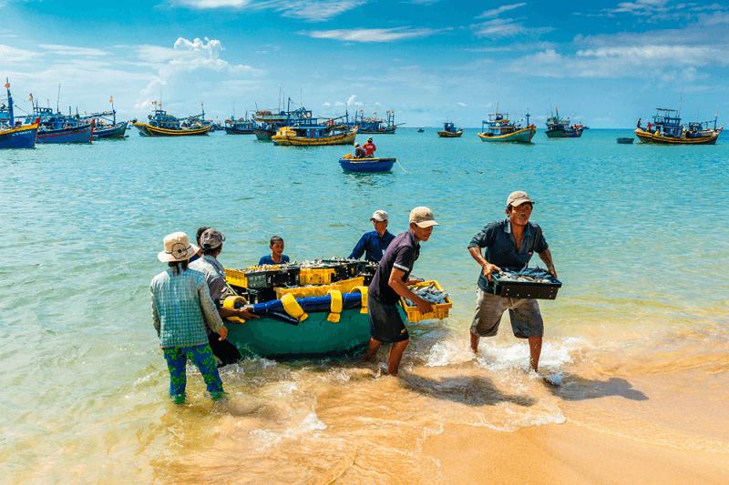 làng chài Phan Thiết