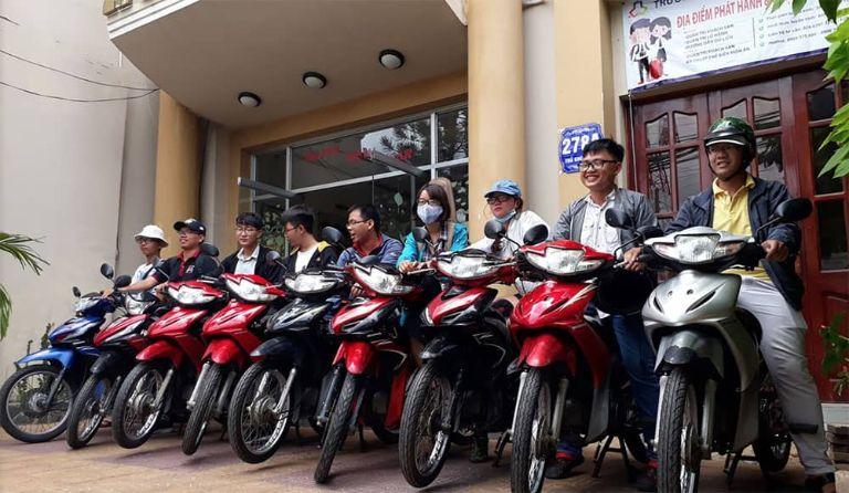 Thuê xe máy Tâm Chung