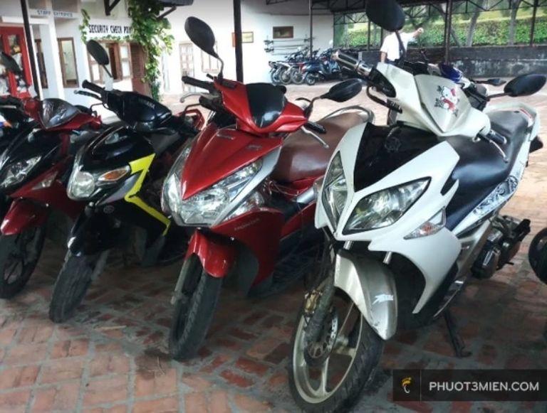 thuê xe máy Phan Thiết