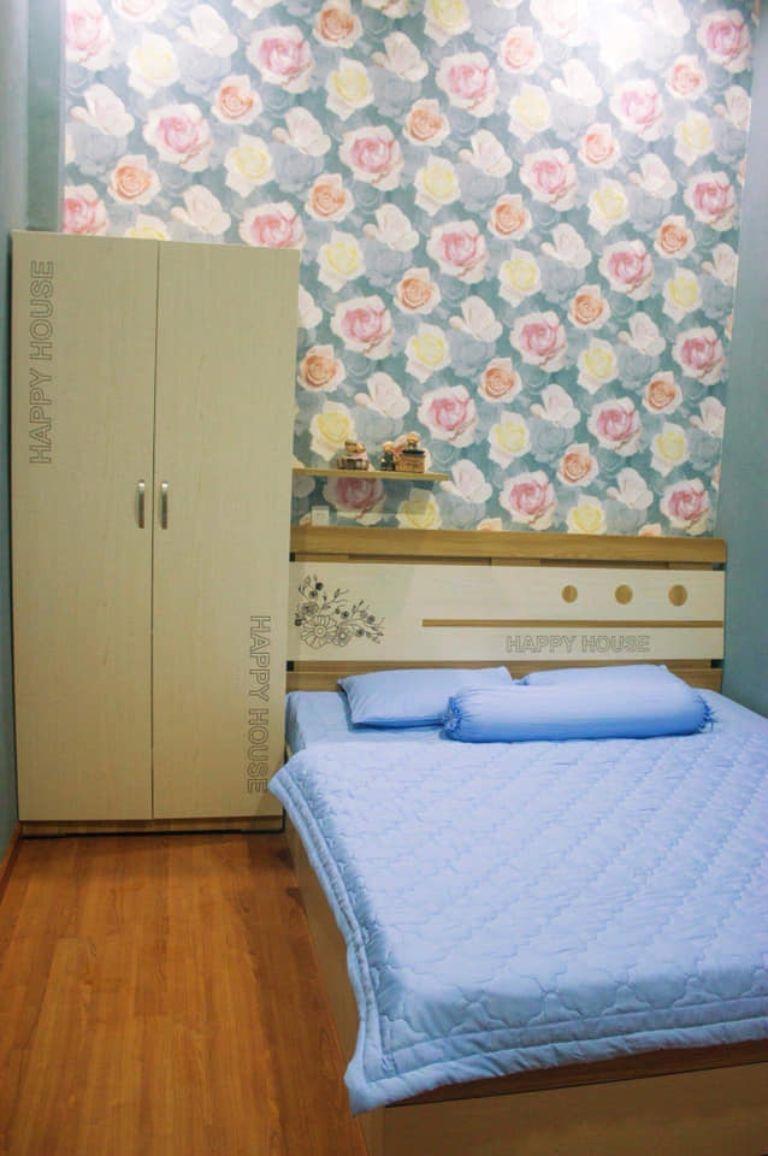 căn phòng nhỏ xinh nhưng đầy đủ tiện nghi và sạch sẽ