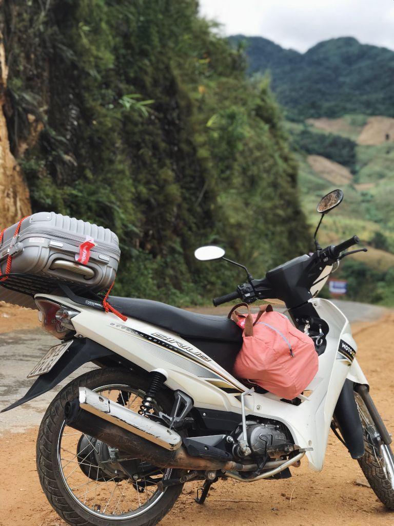 Xe máy đi phượt của MOTOGO