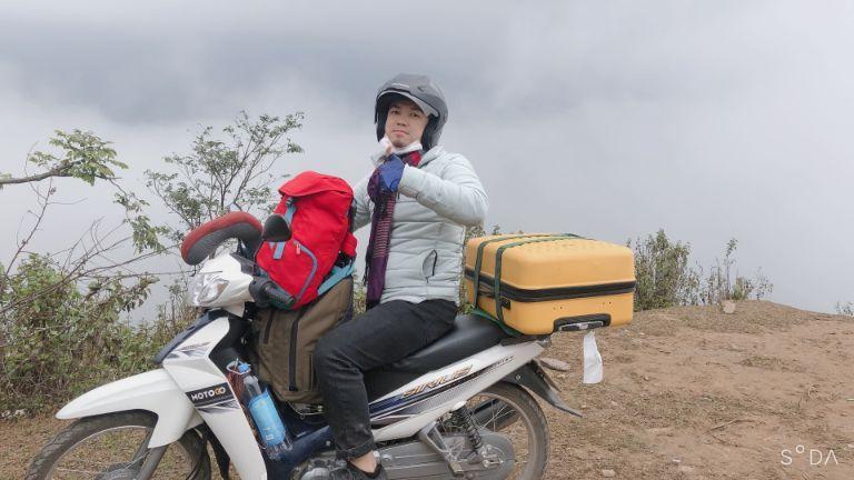 xe máy đi phượt Điện Biên