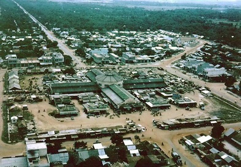 Chợ Long Hoa - Tây Ninh