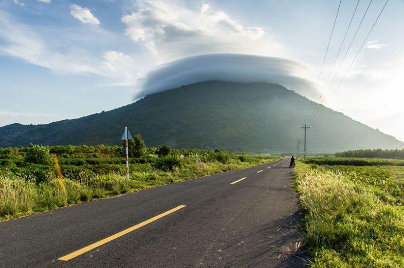 đường đến núi Bà Đen