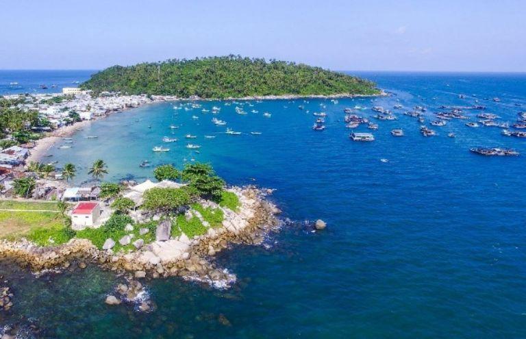 đảo Hòn Thơm - toàn cảnh