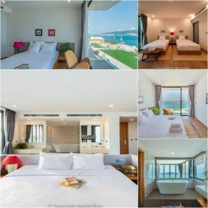 phòng ngủ hướng biển tuyệt đẹp