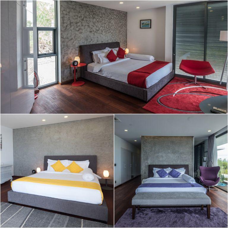 các hạng phòng tại homestay Hapier Villa