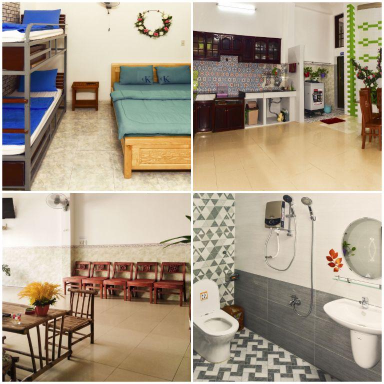 các phòng tại homestay Quy Nhơn