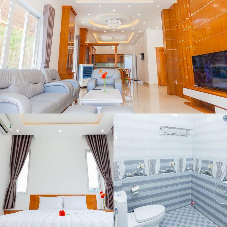 các phòng tại GerberaHome Trang villa