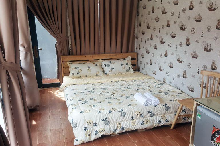 Phòng ngủ trang nhã, lịch sự tại Garden Homestay Quy Nhơn