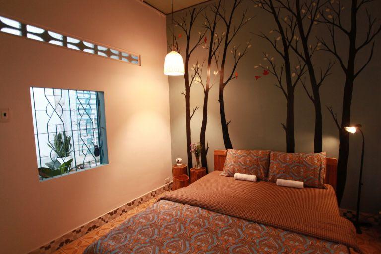 không gian phòng ngủ tại Daviden homestay tại Quy Nhơn