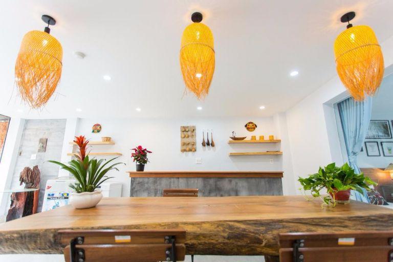 Không gian phòng bếp độc đáo, xinh xắn