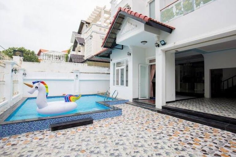 bể bơi tại dream house 21