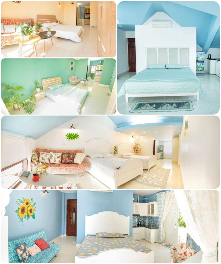 Các loại phòng ngủ của Bon Bon