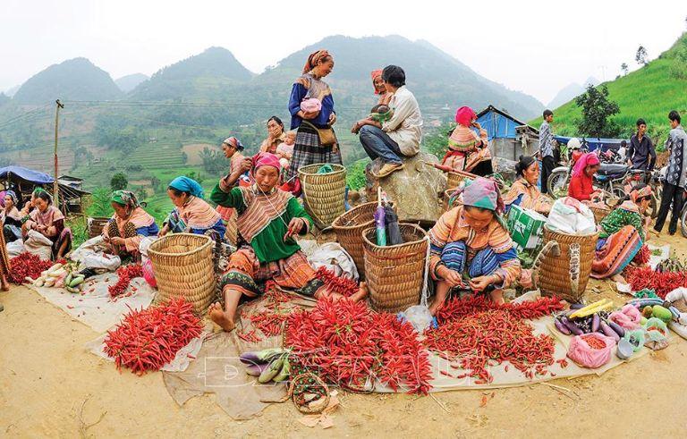 Chợ Xín Mần Hà Giang