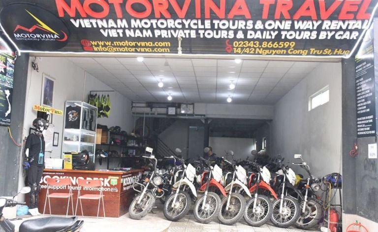 MotorVina   Thuê xe máy Hội An