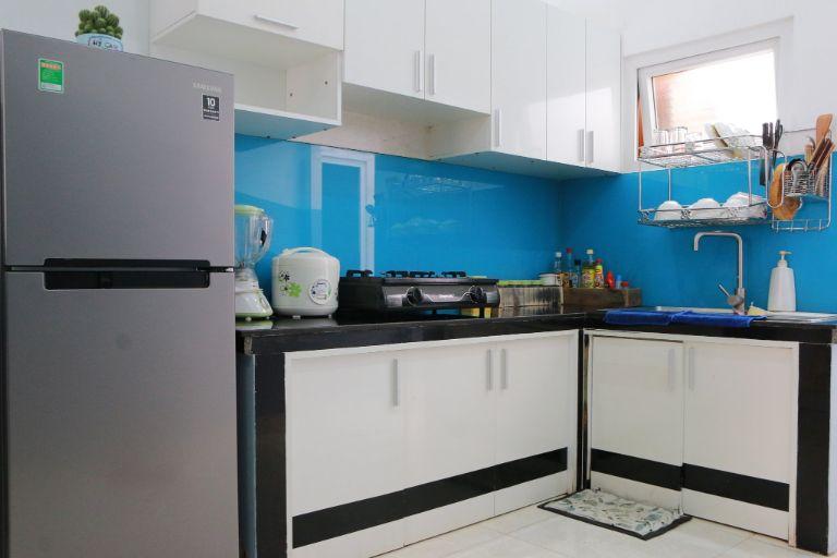 phòng bếp đầy đủ tiện nghi tại the 47 home
