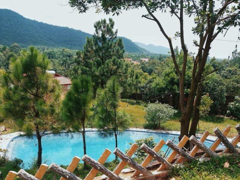 Rose Garden   Homestay gần Hà Nội có bể bơi