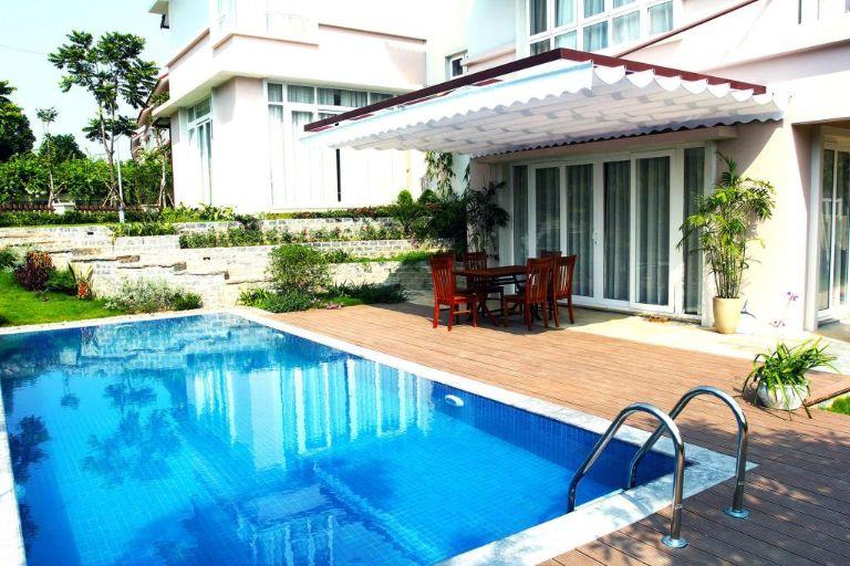 bể bơi tiêu chuẩn tại xanh villas