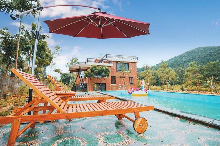 bể bơi thư giãn tại sóc sơn riverside