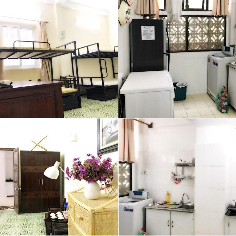 phòng ngủ tại nhà ta homestay