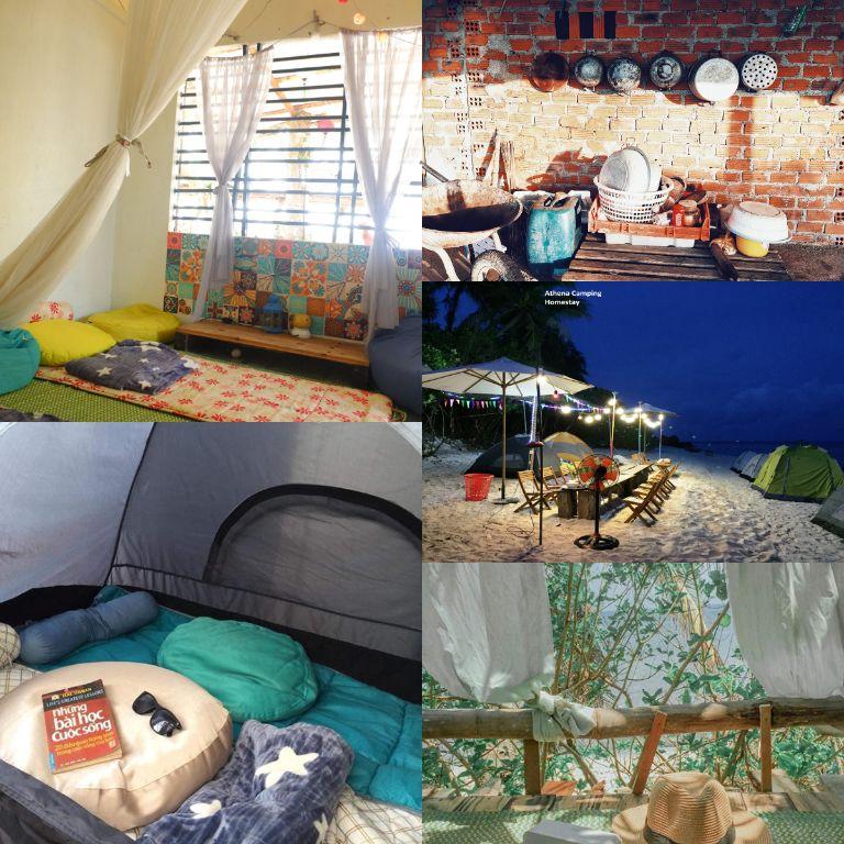 lý sơn athena camping homestay quảng ngãi