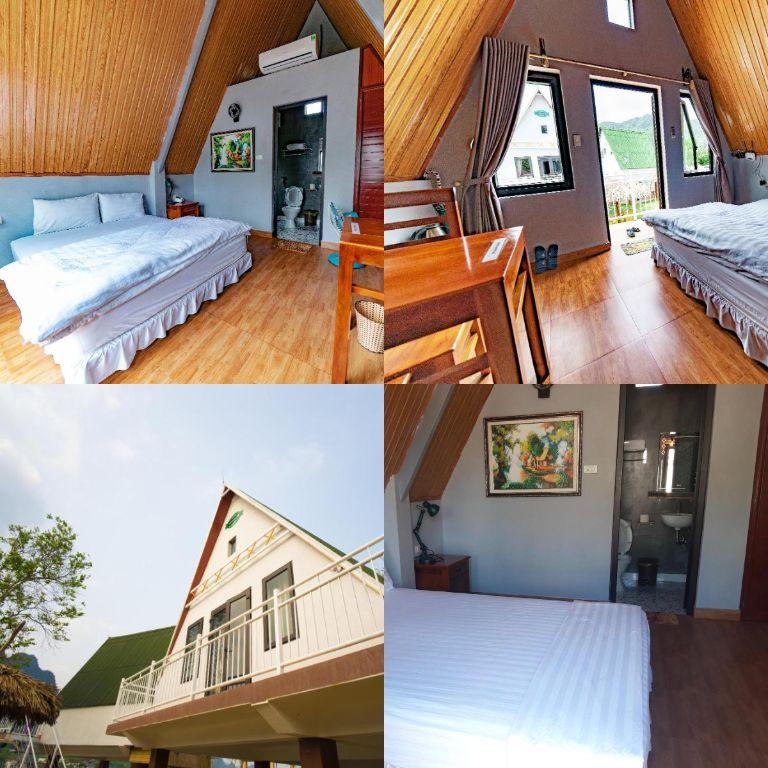 phòng ngủ ở homestay